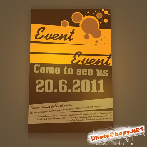 Event Flyer/Poster PSD Template