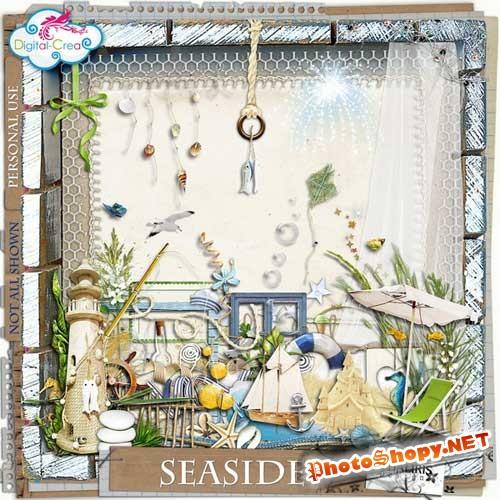 Морской скрап-набор - Побережье