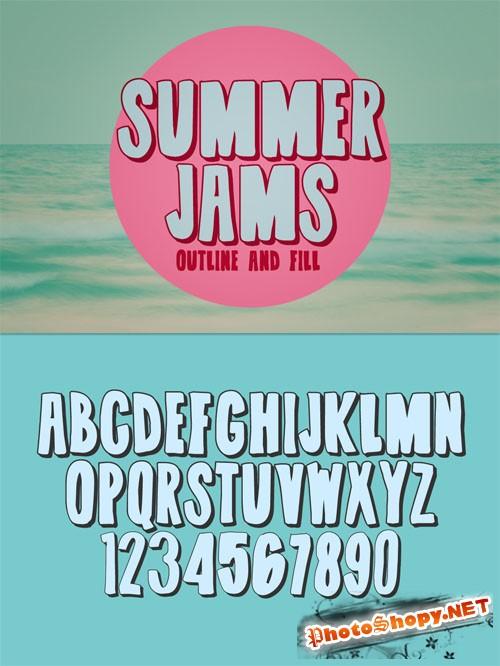 Summer Jams Fonts