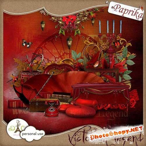 Винтажный набор для скрапбукинга - Викторианская легенда