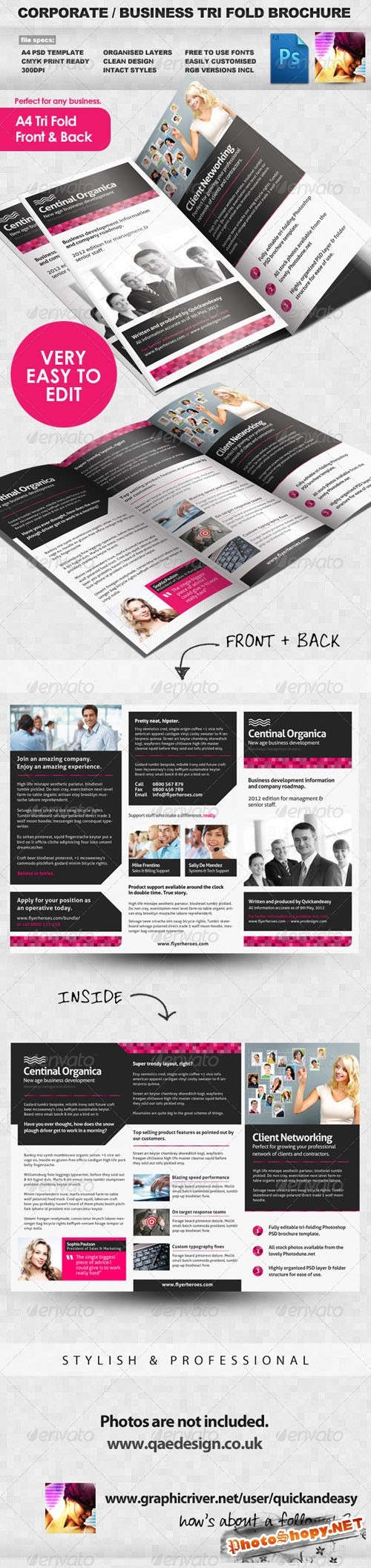 GraphicRiver - Corporate / Business Tri Fold Brochure 2278426