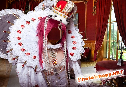 Шаблон для фотошопа  - Королева