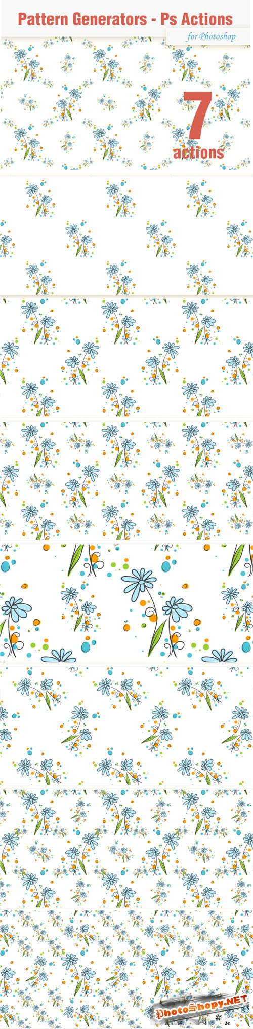 Seamless Pattern Generator for Photoshop