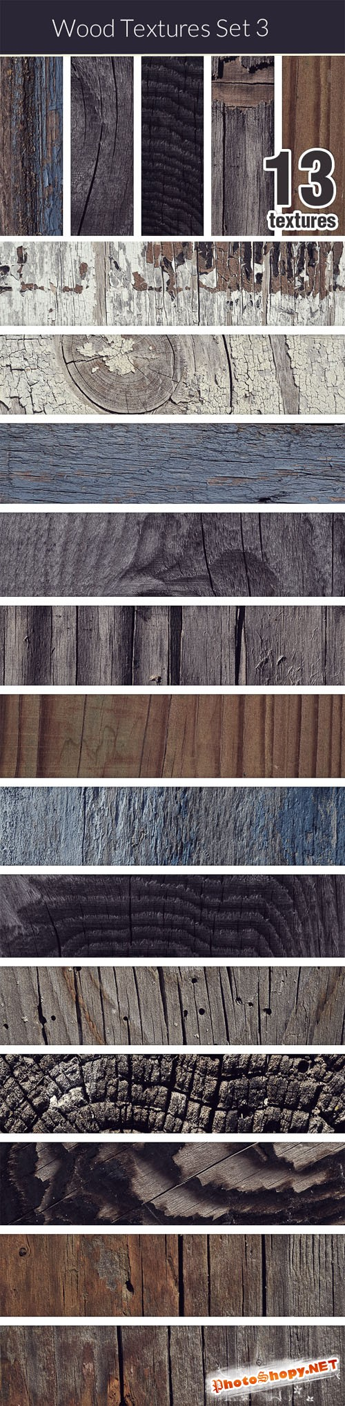 Designtnt - Wood Textures Set 3