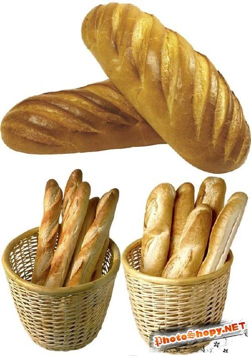 Багет, батон, французский хлеб - фотосток