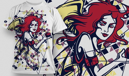 T-Shirt Vector Design 638