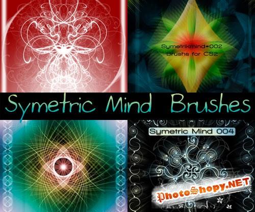 Кисти для Photoshop - Симметрия космического разума