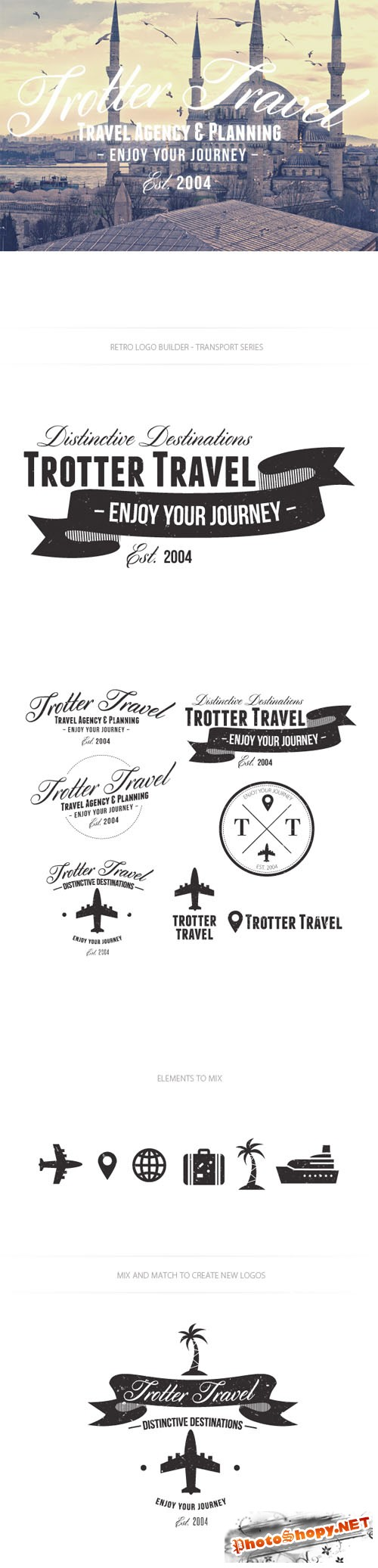Travel Logo Vector Templates