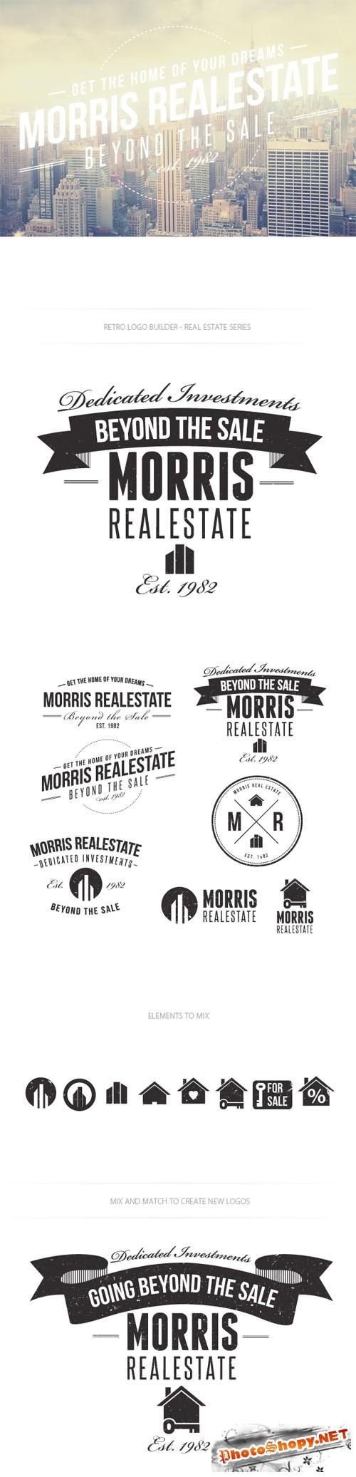Real Estate Logo Vector Templates