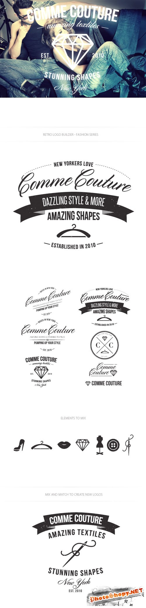 Fashion Logo Vector Templates