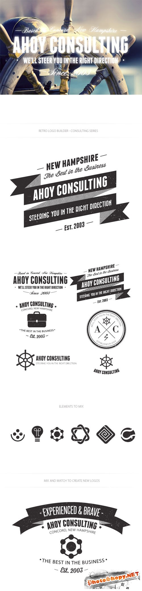 Consulting Logo Vector Templates