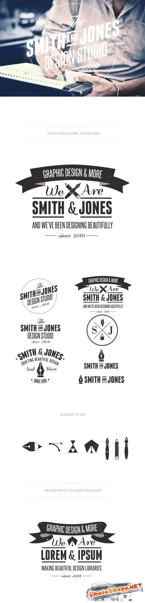 Design Studio Logo Vector Templates