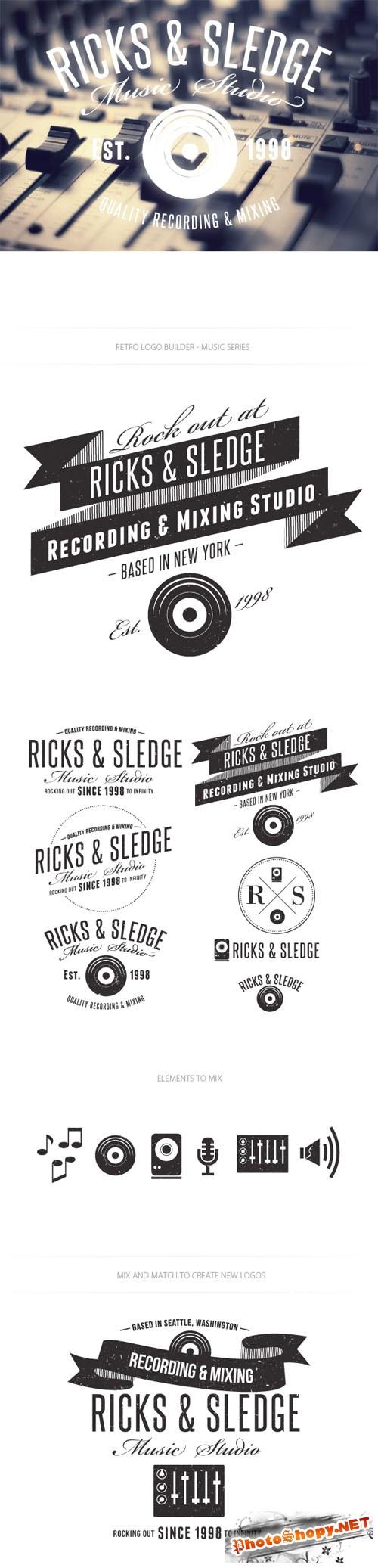 Music Logo Vector Templates
