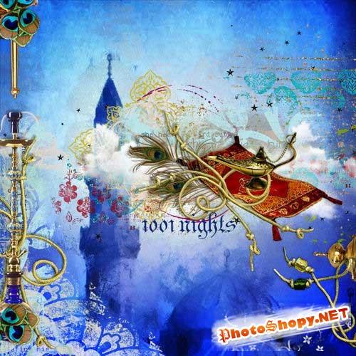 Восхитительный сказочный набор для скрапбукинга - Тысяча и одна ночь