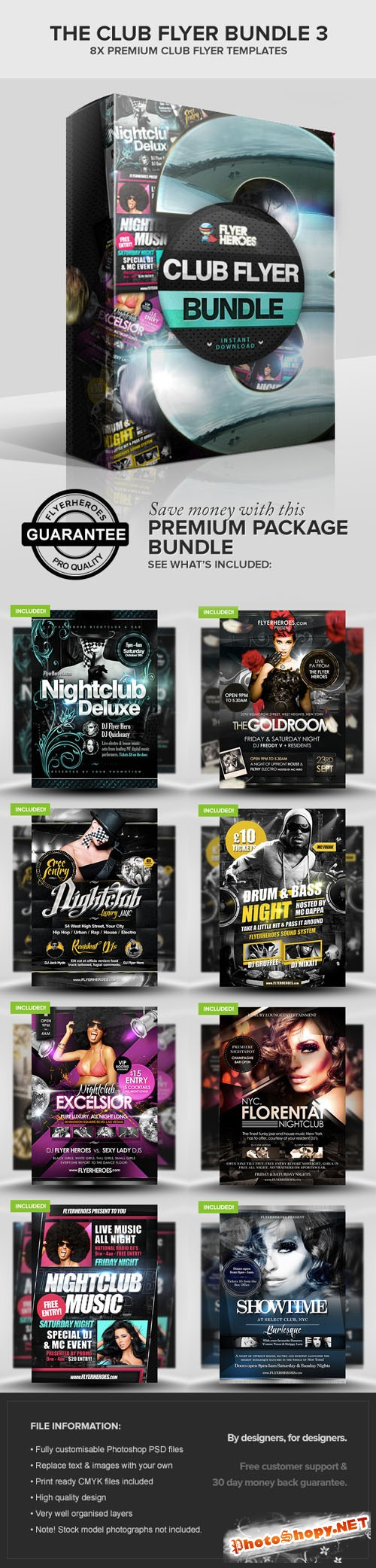 The Club Flyer Bundle 3