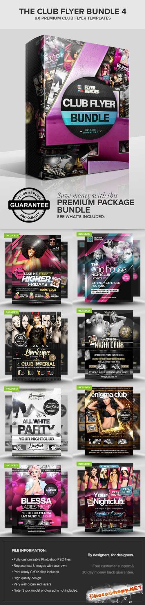 The Club Flyer Bundle 4