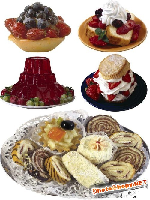Пироженое и десерт (фотосток часть вторая)