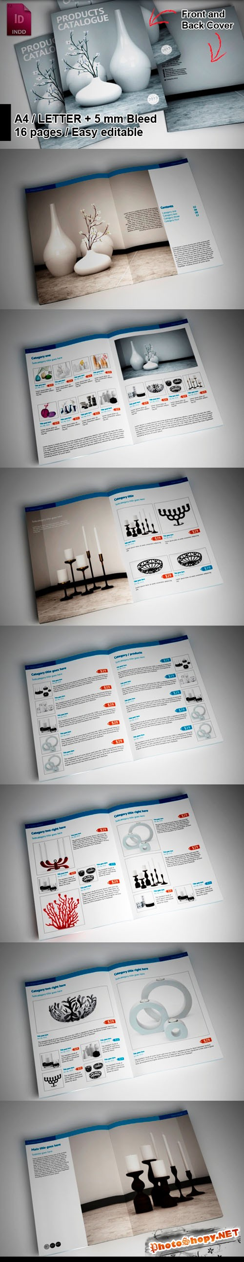 Products Brochure Highlights Template