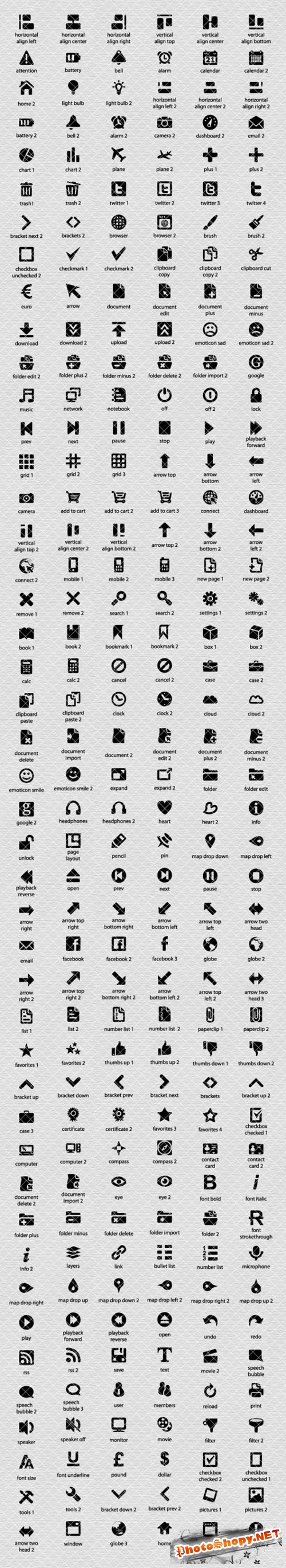 270 Vector Icons
