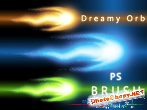 Dreamy Orb Photoshop Brushes