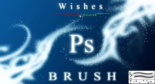 Wishes Photoshop Brushes