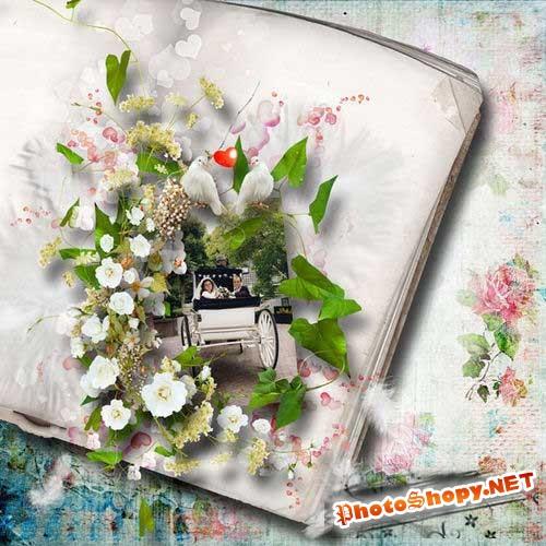 Свадебный скрап-комплект - Наша жизнь