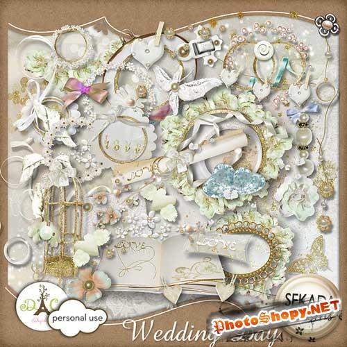 Свадебный скрап-комплект - День свадьбы