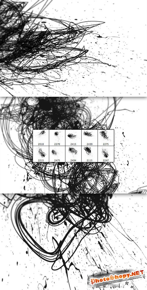 WeGraphics - Insane Scribble Splatter Brushes