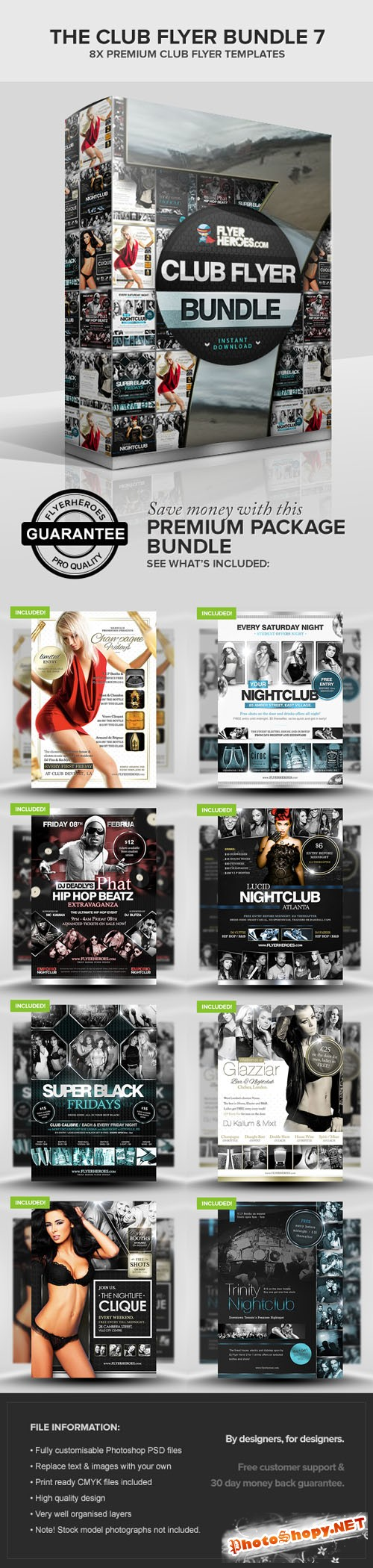 The Club Flyer Bundle 7
