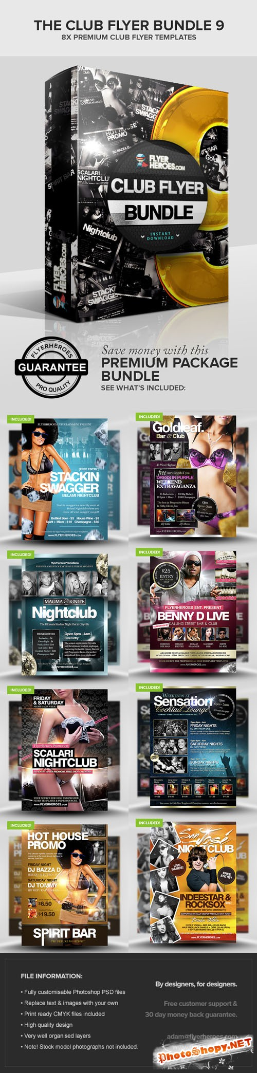 The Club Flyer Bundle 9