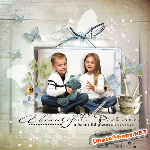 Романтический скрап-комплект - Мои прекрасные краски