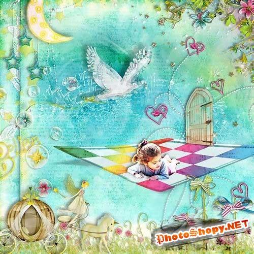 Сказочный детский скрап-комплект - Я верю в сказку