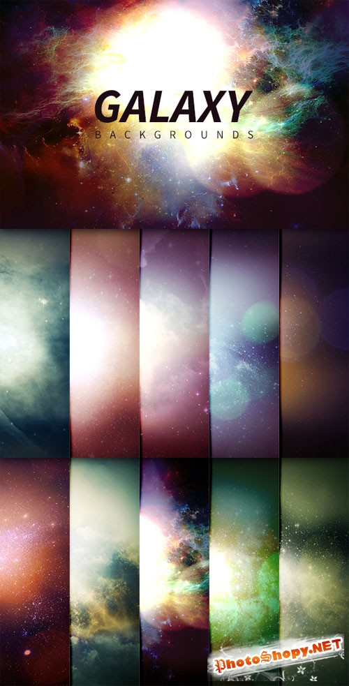 WeGraphics - Galaxy Backgrounds
