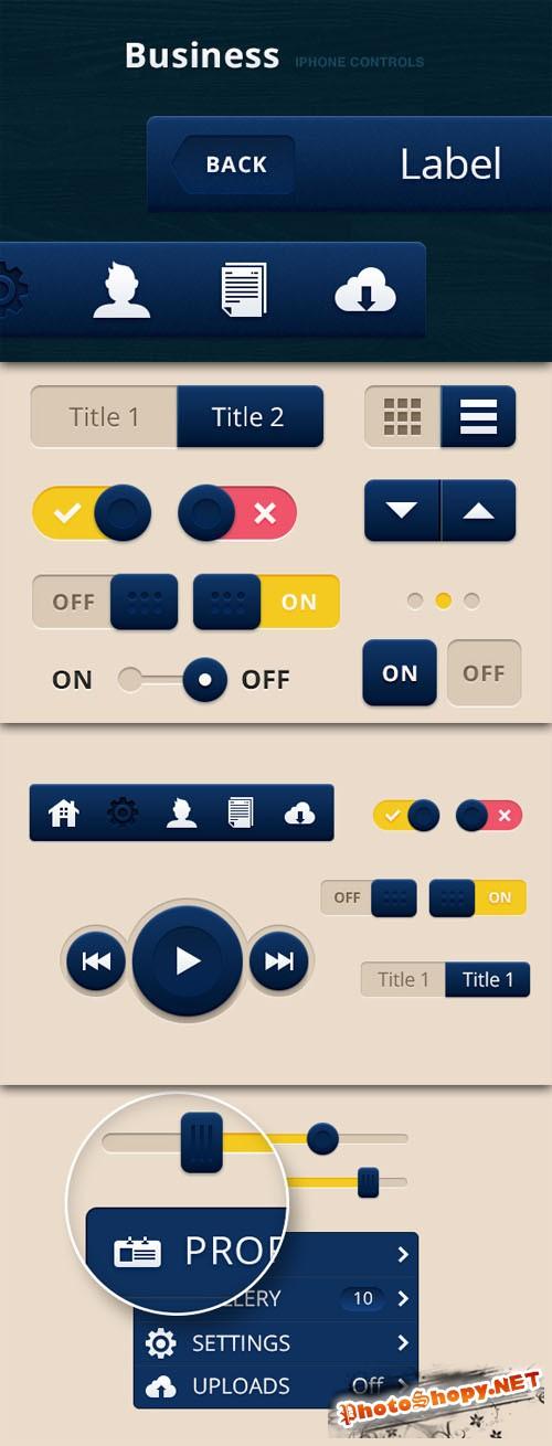 WeGraphics - Business iPhone Controls