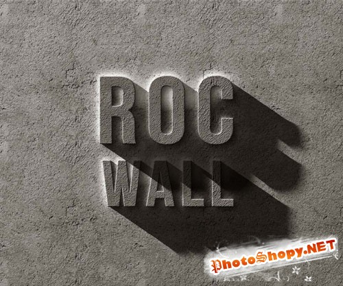 Pixeden - Psd Concrete Rock Text Effect