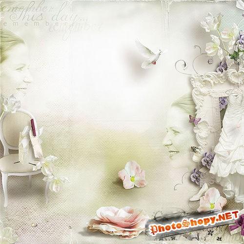 Свадебный скрап-комплект - Драгоценные моменты
