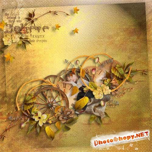 Восхитительный осенний скрап-комплект - Цвета осени