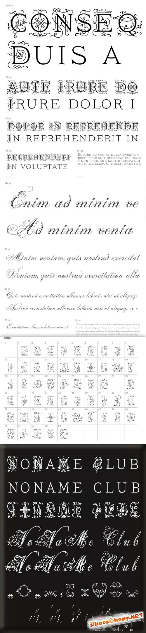 Ivory & Weingut Fonts Pack