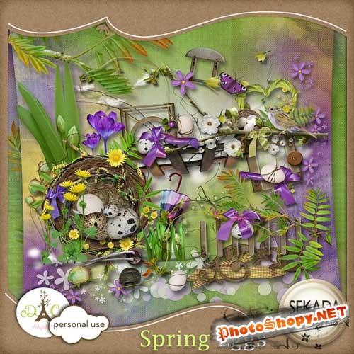 Весенний скрап-комплект - Spring Eggs