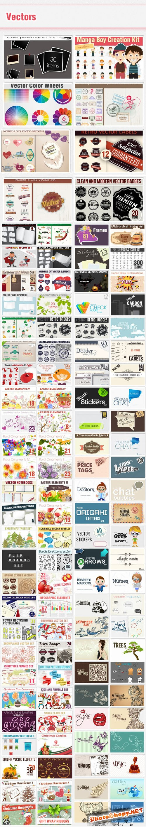 114 Premium Vector Sets from DesignTNT