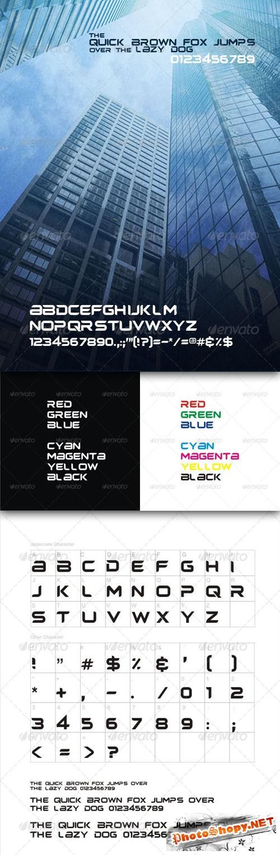 GraphicRiver - Headplane TrueType Font File
