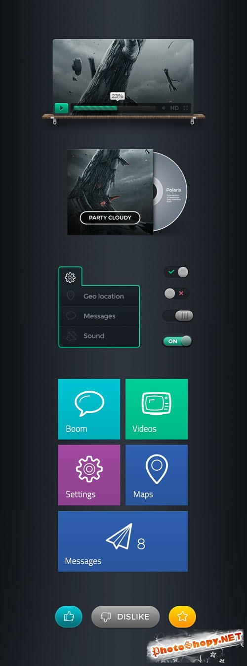 Polaris User Interface Template