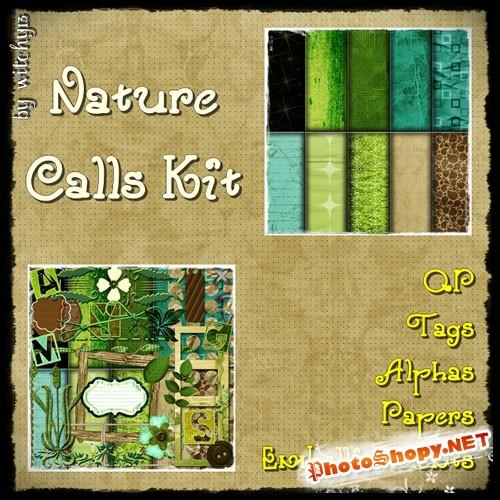 Scrap Set - Nature Calls