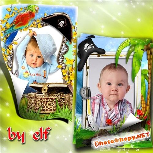 Две рамочки для детских фото