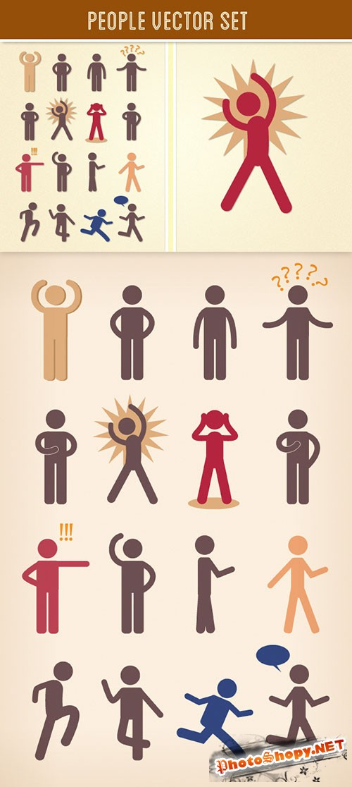 People Vector Set 2