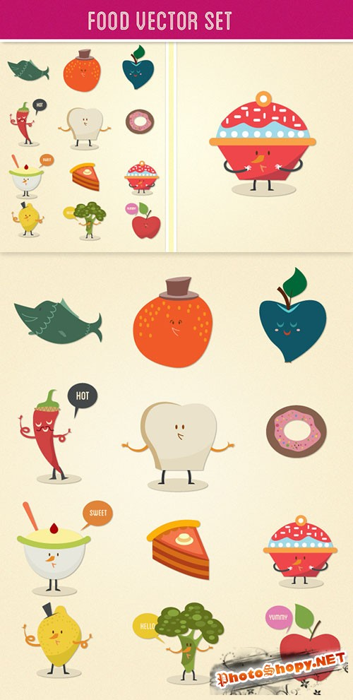 Food Vector Set 2
