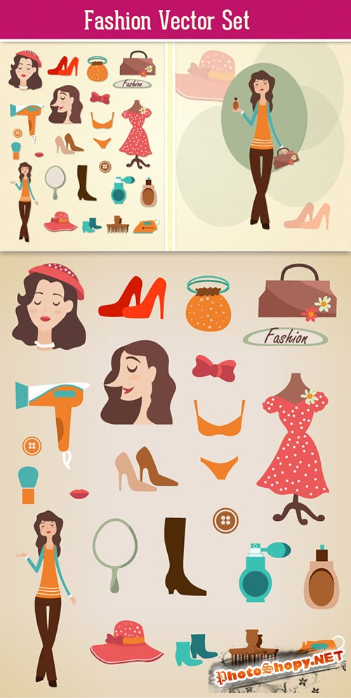 Fashion Vector Set 2