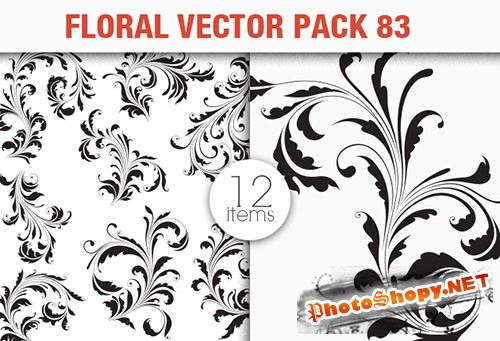 Floral Vector Pack 83