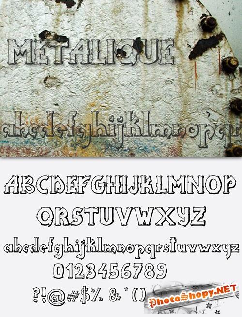 Metalique Font