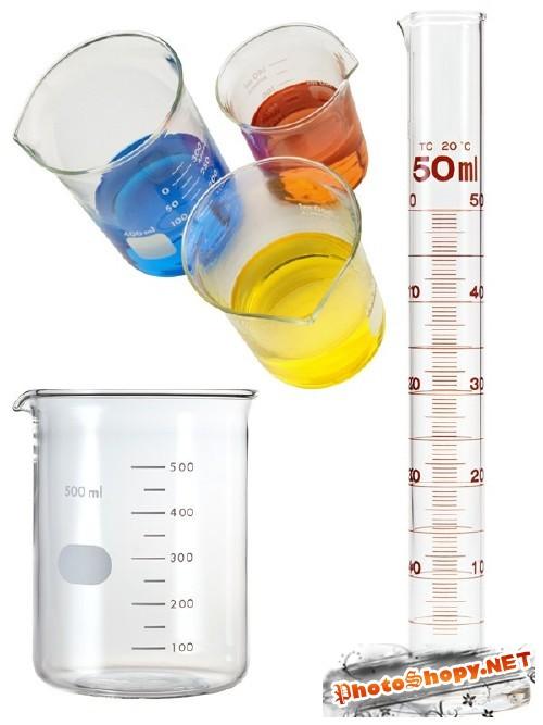 Фотосток: медицинское и химическое оборудование - Мензурки